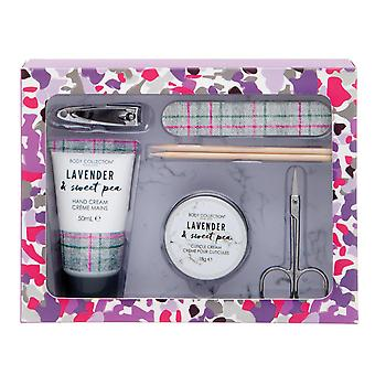 Body Collection Lavender & Sweet Pea Manicure Gift Set