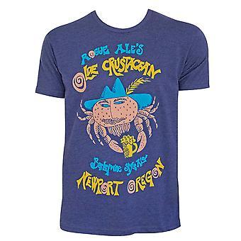 Rogue Men's Blue Olde Crustacean Tee Shirt