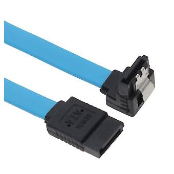 SATA 3.0 Data Cable 50cm Male to Male 180 to 90 Degree
