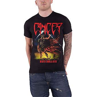 Cancer T Shirt Death Shall Rise Band Logo Death Metal new Official Mens Black