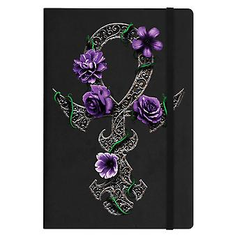 Requiem Collective Floral Ankh A5 Hard Cover Notebook