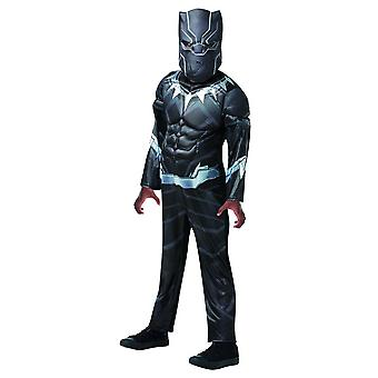 Black Panther Avengers asambla Deluxe MARVEL Kids costum carnaval supererou comic