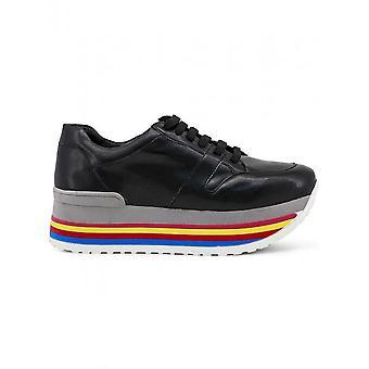 Ana Lublin - Scarpe - Sneakers - FELICIA_NERO - Donne - Nero,rosso - 41