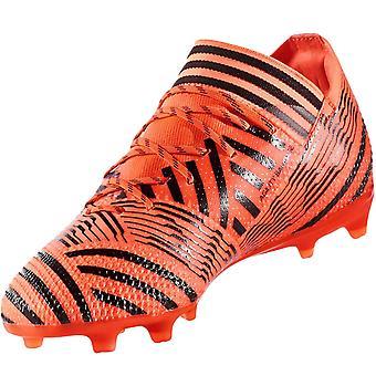 adidas Performance Boys Nemeziz 17.1 Firm Ground Football Boots - Orange