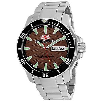 Seapro Men-apos;s Scuba Dragon Diver Limited Edition 1000 Meters Brown Dial Watch - SP8315S