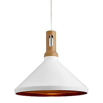 Ikora Matte White Pendant Light