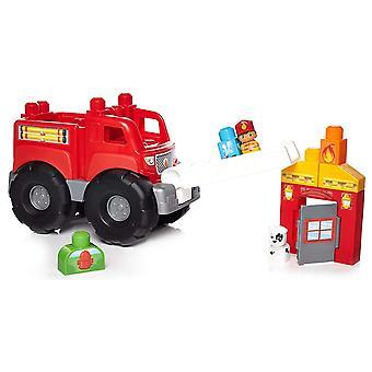 Mega Bloks Storytelling Fire Truck Rescue Toy