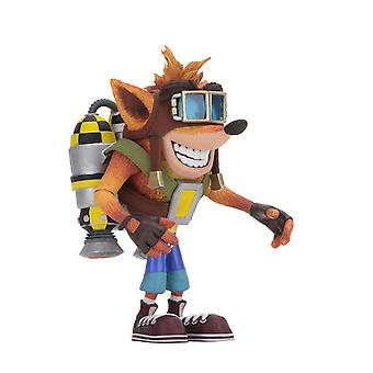 Crash Bandicoot with Jet Pack Poseable Figure from Crash Bandicoot
