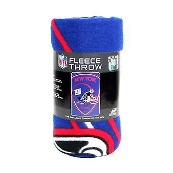 New York Giants NFL Northwest Shield Fleece Throw