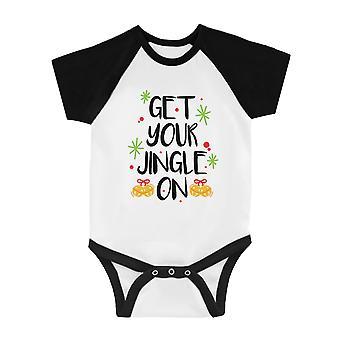 Obtener su Jingle en fresco BKWT Baby Baseball Bodysuit regalo de vacaciones