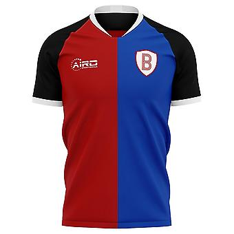 2020-2021 Basel Home Concept Fußball Trikot