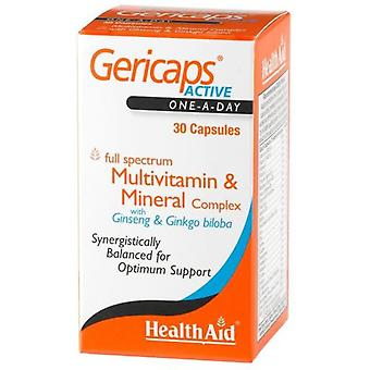 Health Aid Active Gericaps 30cap. Health Aid