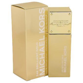 مايكل كورز 24k الذهب الرائعة eau دي بارفوم رذاذ من قبل مايكل كورس 539080 50 مل
