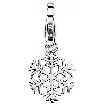 Pierre Lannier JC99A166 - Charm silver snowflake charm