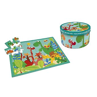 Scratch Puzzle 40 stycken Dino världen