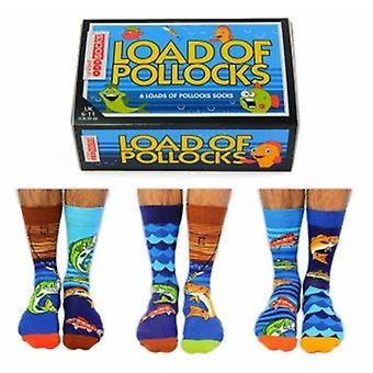 Load Of Pollocks Novelty Fishing Socks