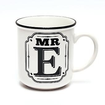 Histoire et Héraldique Alphabet Mugs-mr E