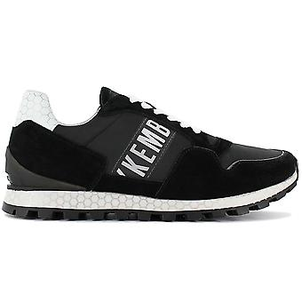 Bikkembergs Fend-er 2076 BKE108965 Men's Shoes Black Sneakers Sports Shoes