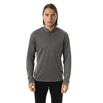 Polo long-sleeved Military Green Byblos man