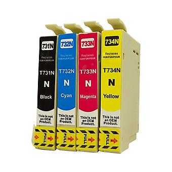 73N Series Pigment Compatible Inkjet Cartridge Set
