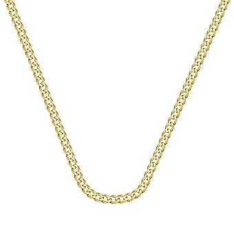 14k Yellow Gold Curb Chain Bracelet 3.7mm Lobster Claw Closure 8 Inch Jewelry Gifts for Women