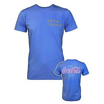 Junk Food Coca-Cola Can-apos;t Beat The Feeling Men-apos;s T-Shirt