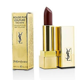 Yves Saint Laurent Rouge Pur Couture The Mats - # 222 Black Red Code  3.8g/0.13oz
