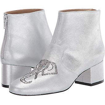 Katy Perry Women's The Rino Bootie, SILVER, 7 M