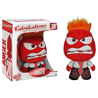 Inside Out Anger Fabrikations Plush