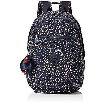 Kipling CLAS Challenger Multicolored Women's Backpack (Happy DOT Print) 26x36x21 Centimeters (B x H x T)