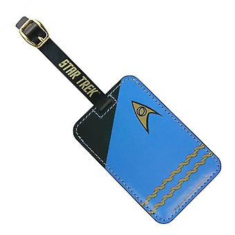 Tag bagajelor - Star Trek - Blue Uniform New Toys licențiat ST-L106
