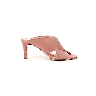 Agl Attilio Giusti Leombruni D636036pcvel0u0353 Women's Pink Leather Sandals