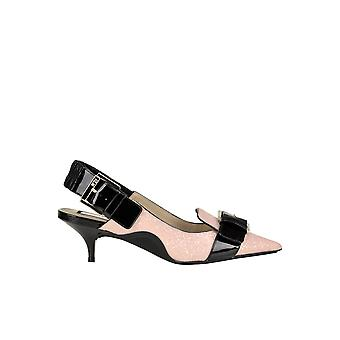 N°21 Ezgl068149 Women's Pink Leather Pumps