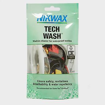 Neue Nikwax Tech Waschtasche für wasserdichte Kleidung und Ausrüstung. Grün