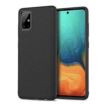 Stuff Certified® Samsung Galaxy S20 - Carbon Matte Case Cover Cas TPU Case Black