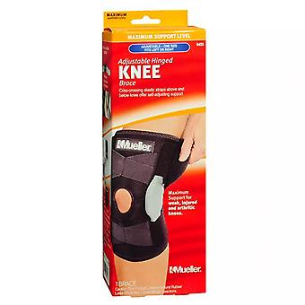 Mueller adjustable hinged knee brace, maximum support, one size, 1 ea