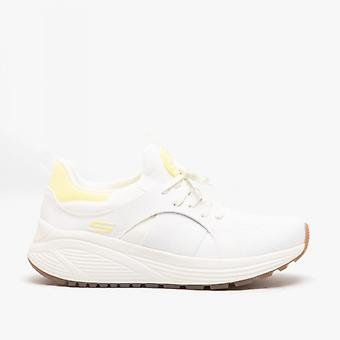 Skechers Bobs Sparrow 2.0 -metro Daisy Ladies Trainers White/yellow