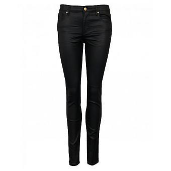 Armani Exchange Orta Rise Kaplamalı Süper Skinny Jeans