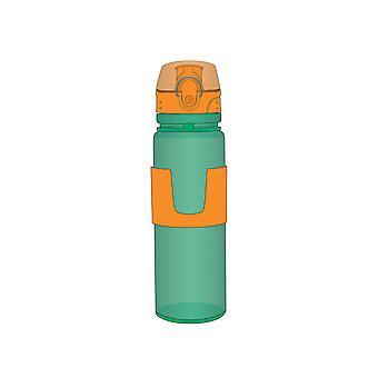 Porta Roller Drinks Bottle, Green & Orange