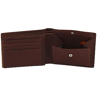 Friedrich Leather Goods Purse GILMERS Leather cognac brown RFID Protection