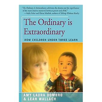 The Ordinary is Extraordinary How Children Under Three Learn by Dombro & Amy Laura