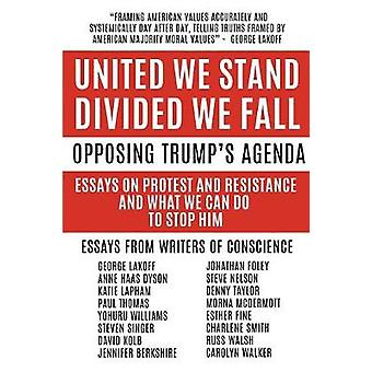 United We Stand Divided We Fall Opposing Trumps Agenda Essays On Protest And Resistance And What We Can Do To Stop Him by Taylor & Denny