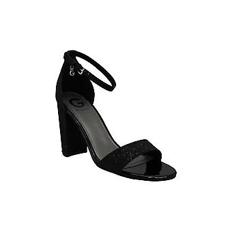 G by Guess Womens Shantel3 Peep Toe Casual Ankle Strap Sandals