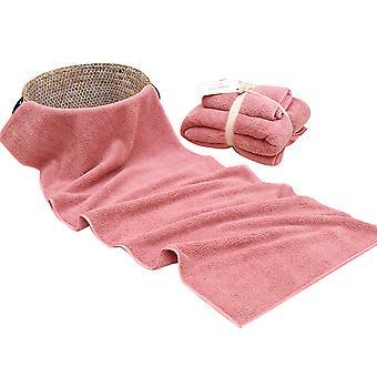 2pc Bath towel set Cotton thickening