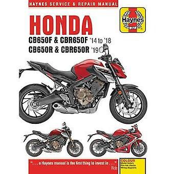 Honda CB650F & CBR650F - CB650R & CBR650R (14 - 19) - 2014 to