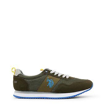 U.S. Polo Assn. Men Green Sneakers -- NOBI604080