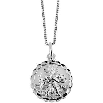 Orton West St Christopher Pendant - Silver