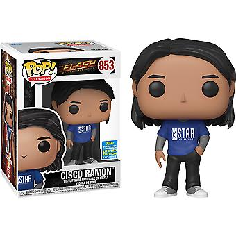 Flash Cisco Ramon SDCC 2019 US Exclusive Pop! Vinyl