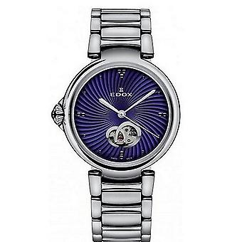 Edox kellot LaPassion Open Heart Naisten Watch Automaattinen 85025 3M BUIN