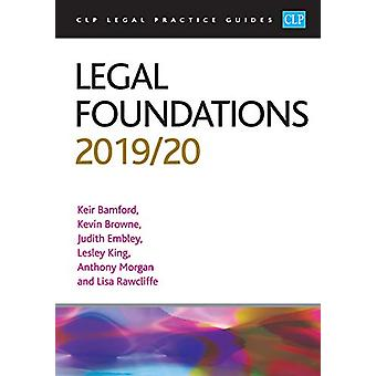 Legal Foundations 2019/2020 by Kevin Browne - 9781913226046 Book